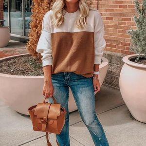 Abercrombie Oversized Chenille Sweater